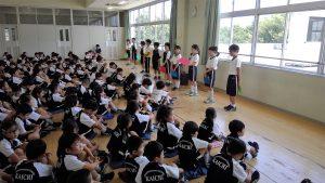 【満席のため予約締切】7月29日(土)入試トライアル(年長児対象)を実施します。