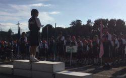運動会 閉会式 児童生徒代表 挨拶